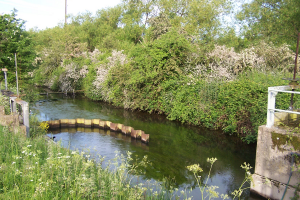 The Sluice - an area of the Works