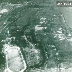 RM aerial view Jan 1954