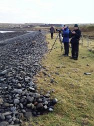 Skye - Surveying Staffin Bay